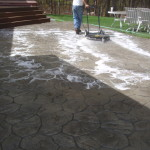 Photo of concrete pool deck sealing - sharon - ma