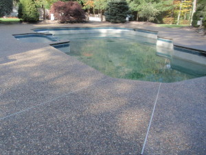 Stamped Concrete Cleaning, Treating and Sealing in Wrentham, MA