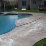 photo of Stamped Concrete Cleaning, Treating and Sealing in Sharon, MA