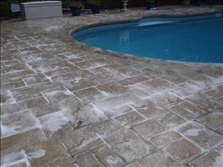 Photo of concrete pool deck sealing - walpole - ma